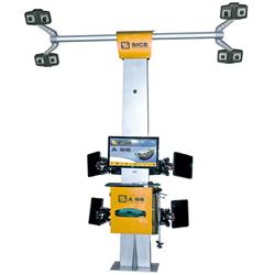 8 Camera 3D wheel aligner