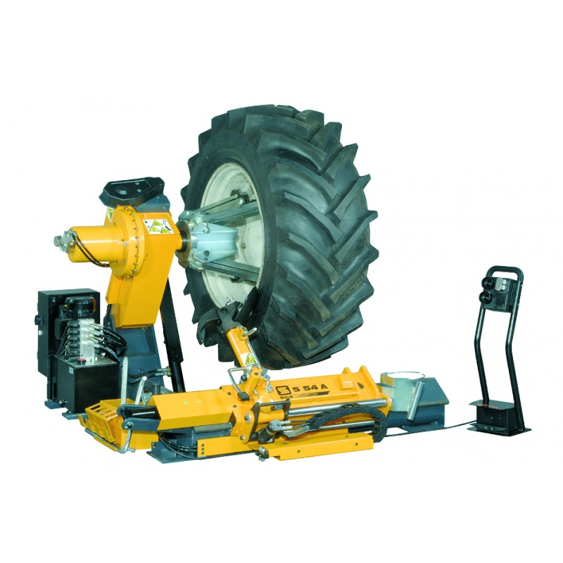 Heavy vehicle tyre changer